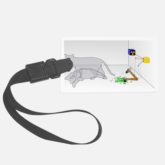 2000px-Schrodingers_cat Luggage Tag