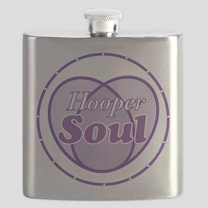 Purple Hooper Soul Flask