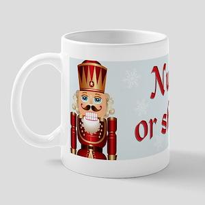 Nut up bumper Mug
