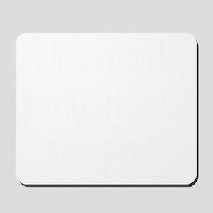 W_bass_player Mousepad