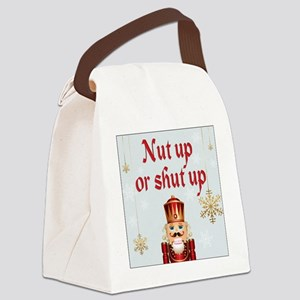 Nut up light Canvas Lunch Bag
