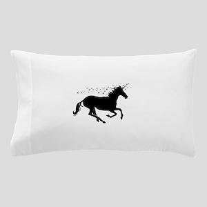 Magical Unicorn Silhouette Pillow Case