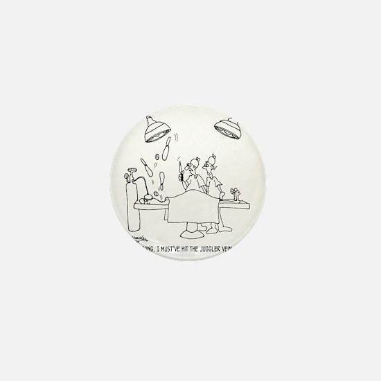 6677_juggling_cartoon Mini Button