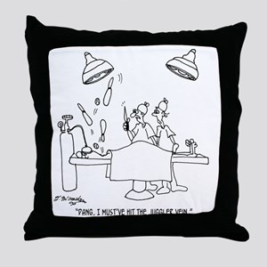 6677_juggling_cartoon Throw Pillow