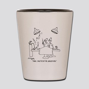 6677_juggling_cartoon Shot Glass
