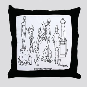 0187_art_cartoon Throw Pillow