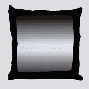 film noir fflops Throw Pillow