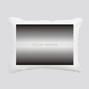 film noir post Rectangular Canvas Pillow