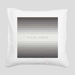 film noir ipad Square Canvas Pillow