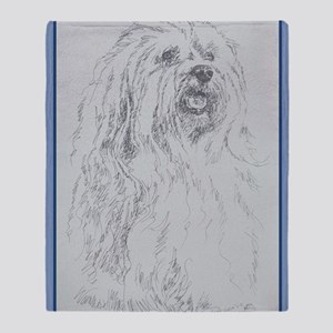 Havanese_KlineZ Throw Blanket
