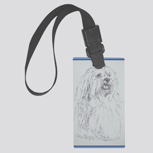 Havanese_KlineZ Large Luggage Tag