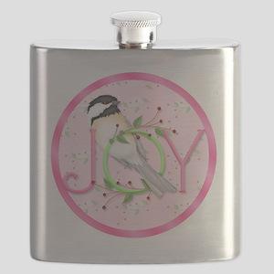 joy chickadee (3) Flask