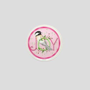 joy chickadee (3) Mini Button