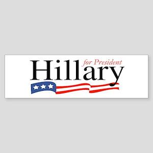 Hillary for President Sign Bumper Sticker