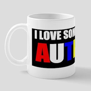 Autism and love Mug