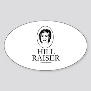 Hill Raiser Oval Sticker
