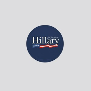 Hillary for President Poster Mini Button