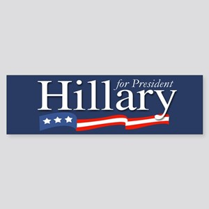 Hillary for President Poster Bumper Sticker