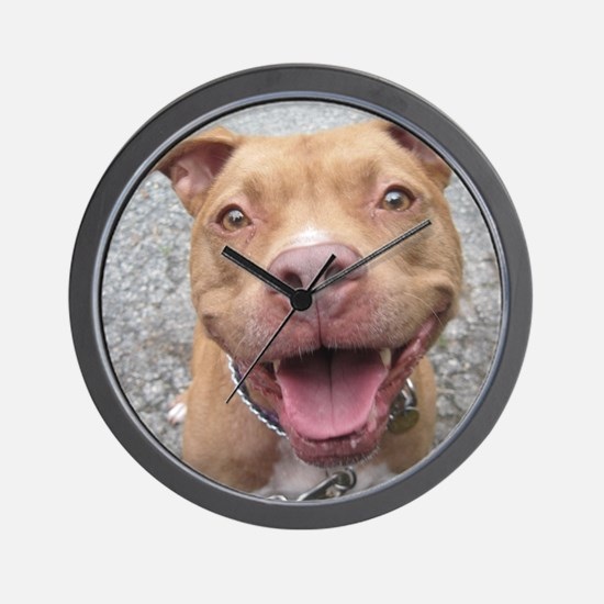 Bailey Smiley-Card Wall Clock