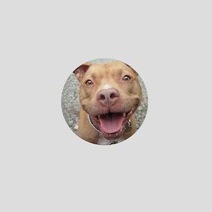 Bailey Smiley-Card Mini Button