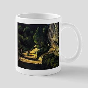 scenery - Paul Cezanne - c1870 11 oz Ceramic Mug