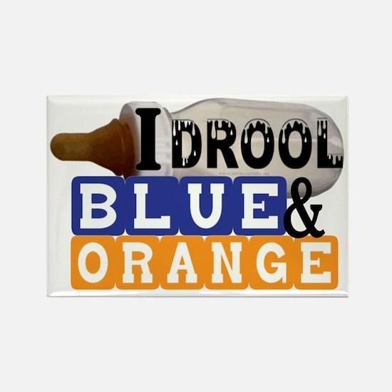 blue  orange.gif Rectangle Magnet