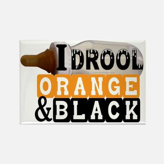 orange  black.gif Rectangle Magnet