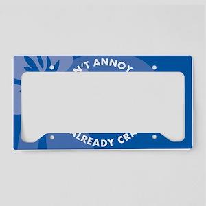 DontAnnoyMe20x12cm License Plate Holder