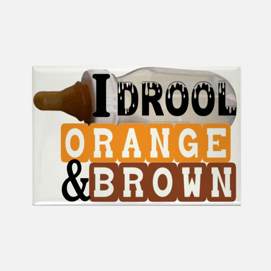 orange  brown.gif Rectangle Magnet