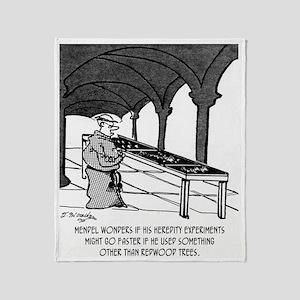 1818_forestry_cartoon Throw Blanket