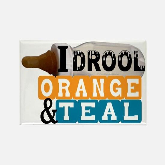 orange  teal.gif Rectangle Magnet