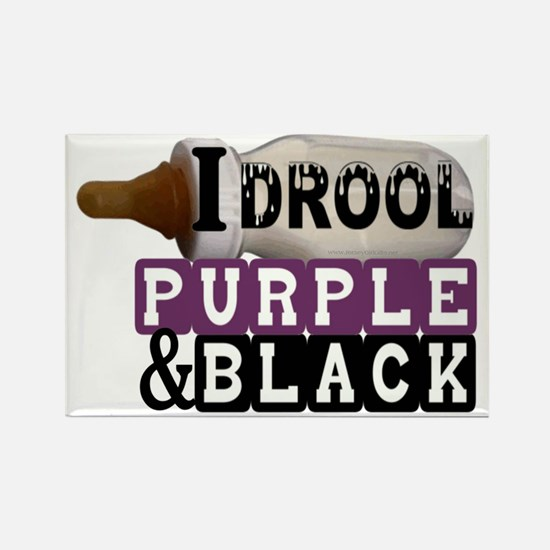 purple  black.gif Rectangle Magnet