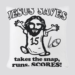 tshirt designs 0703 Woven Throw Pillow