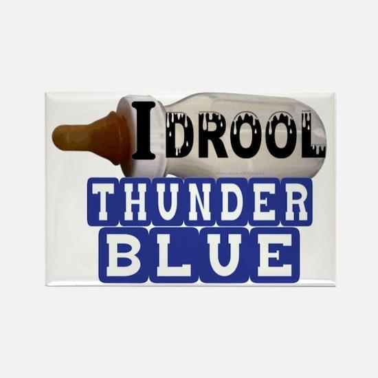 thunder blue.gif Rectangle Magnet