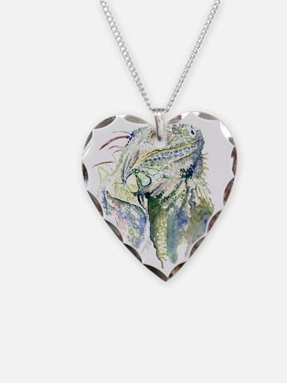 Rex the Iguana Necklace