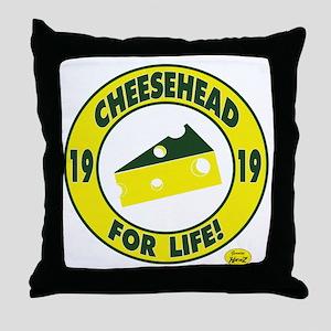 cheeseheadforlife1919 Throw Pillow