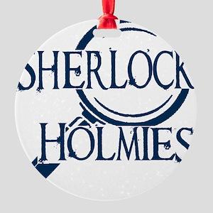 sherlock holmies Round Ornament