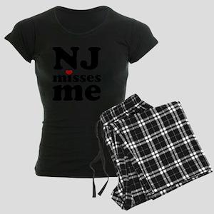 NJMM-bk Women's Dark Pajamas