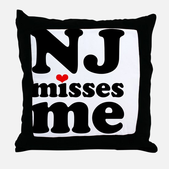 NJMM-sm Throw Pillow