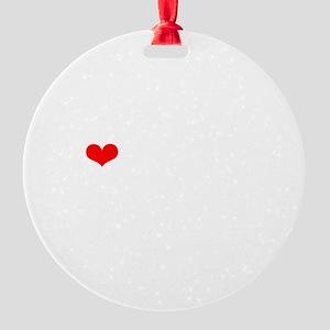 NJMM-wt Round Ornament