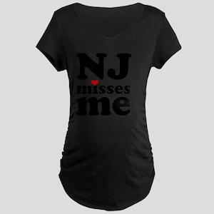 NJMM-sm Maternity Dark T-Shirt