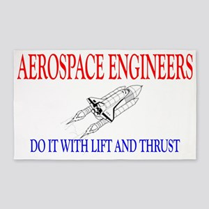 AEROSPACEENGINEERSDOIT 3'x5' Area Rug