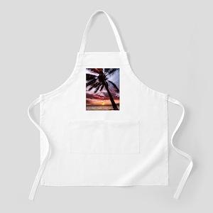 maui hawaii coconut palm tree sunset Apron