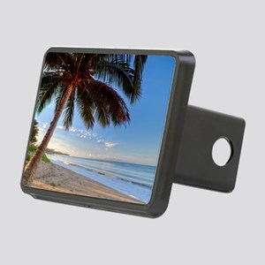 Maui Paradise Beach Hawaii Rectangular Hitch Cover