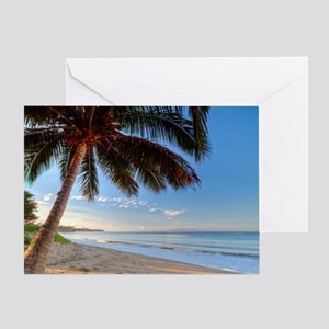 Maui Paradise Beach Hawaii 3 Greeting Card