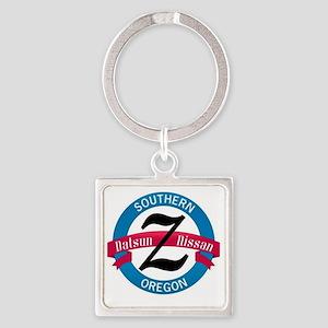 Z_CLUB_logo175dpi Square Keychain