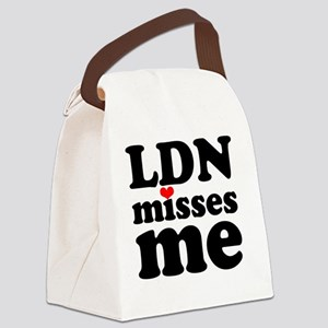 LDNMM-bk Canvas Lunch Bag