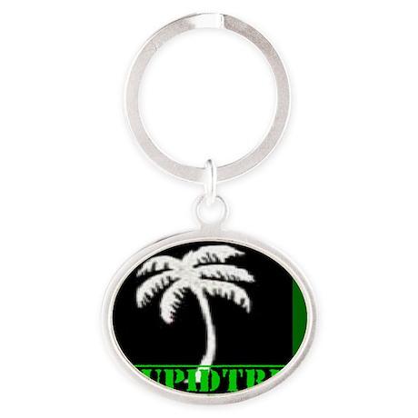 my logo bi Oval Keychain