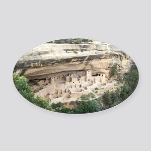 WideCliff Oval Car Magnet
