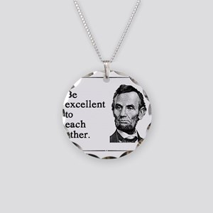 beexcellent2 Necklace Circle Charm